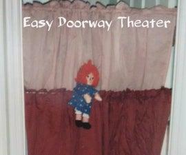 Easy Doorway Puppet Theater