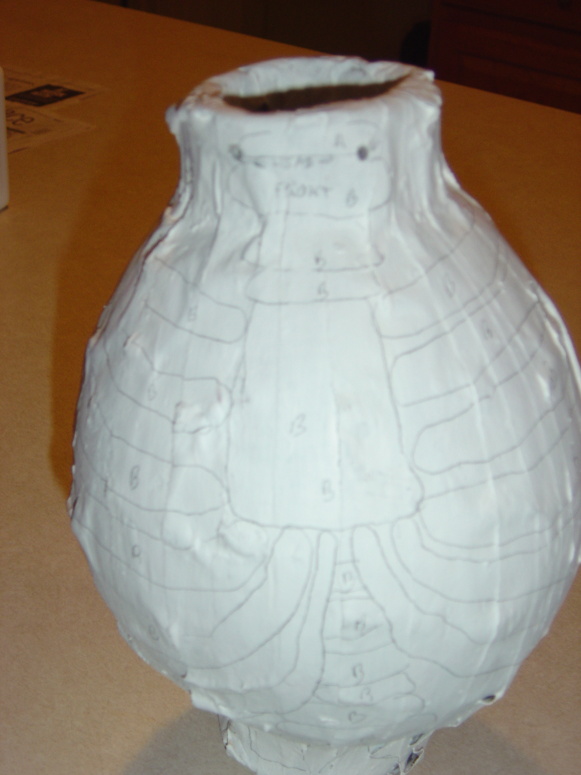Picture of Papier Mache Finishing