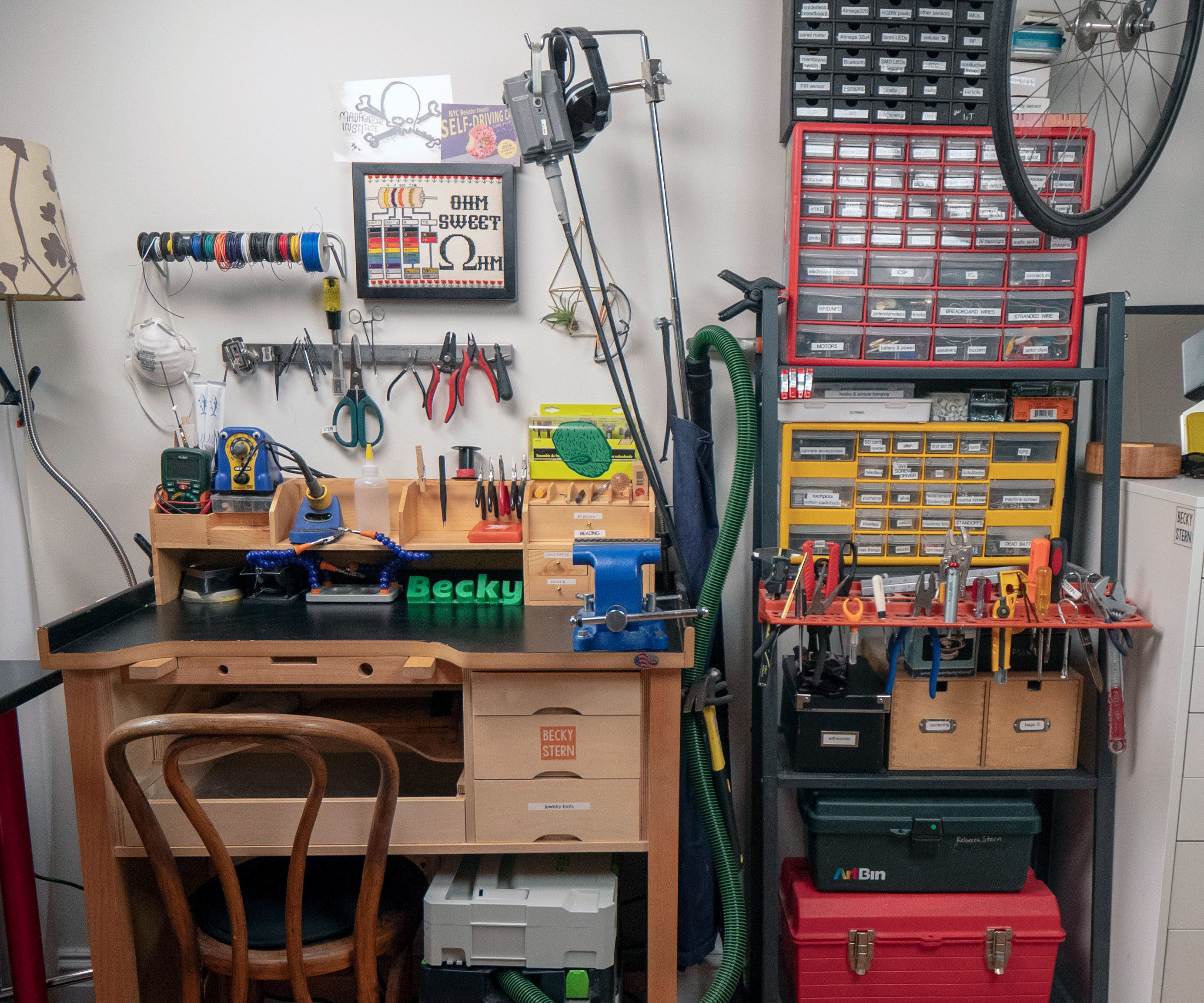 Admirable Workbench Storage Upgrade 3 Steps With Pictures Andrewgaddart Wooden Chair Designs For Living Room Andrewgaddartcom