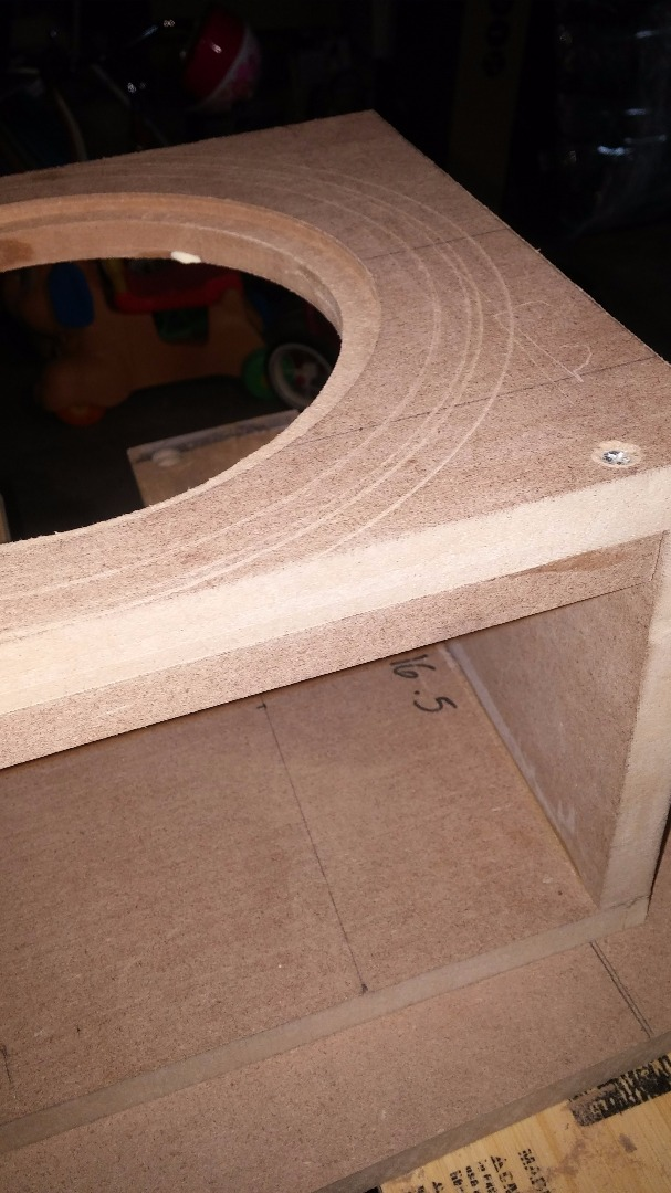 Picture of Gluing the Battens - Attaching the Sides - Flush Trim the Attached Sides