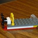 Fan Boat Lego DIY