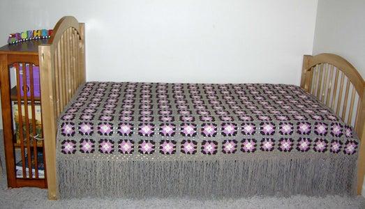 Traditional Granny Square Bedspread