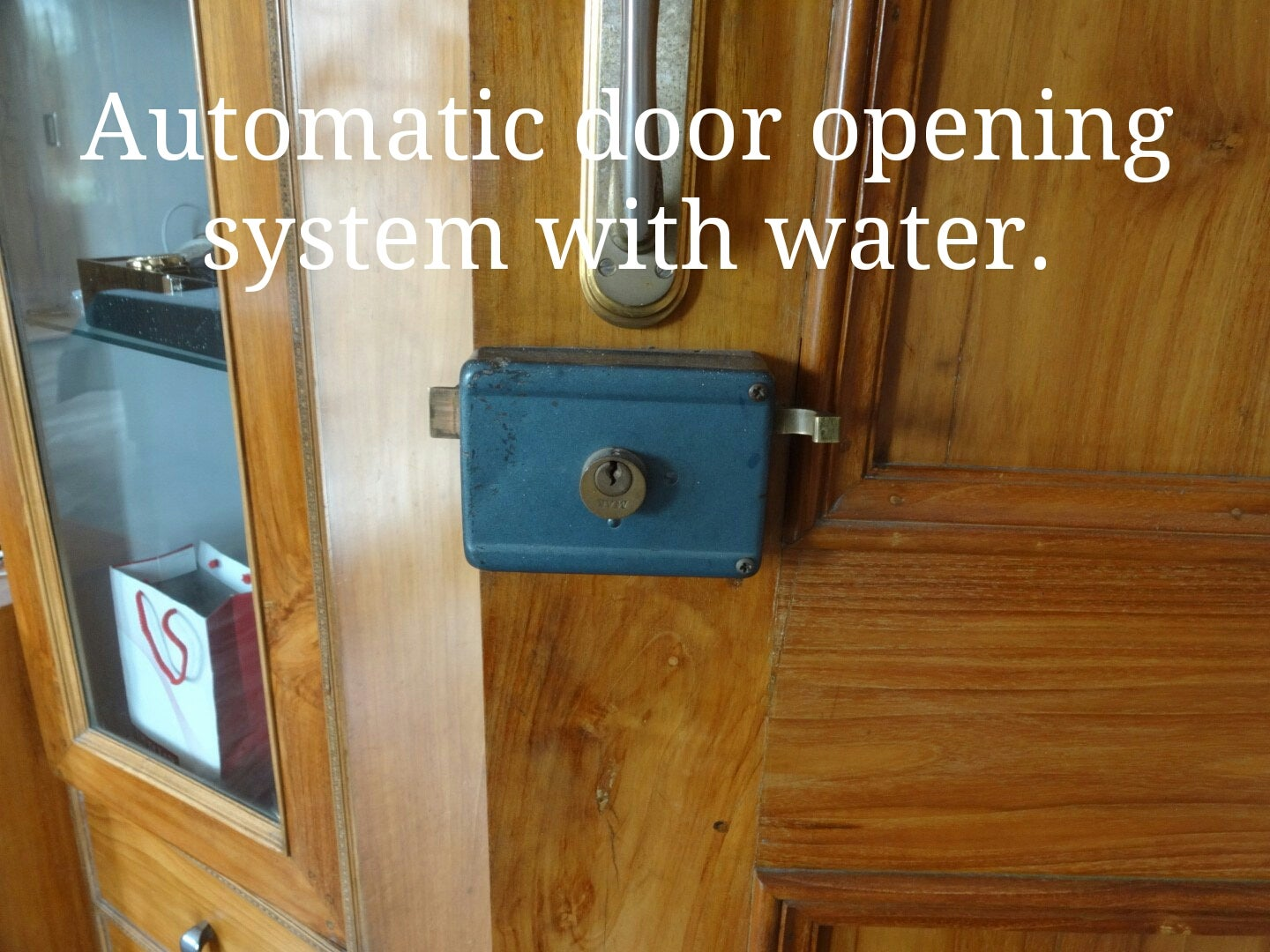 Hydraulic Door Opening System 4 Steps With Pictures