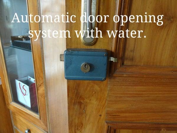 Hydraulic Door Opening System
