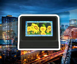 Digital Picture Frame Using Gen4 ULCD-43DCT-CLB