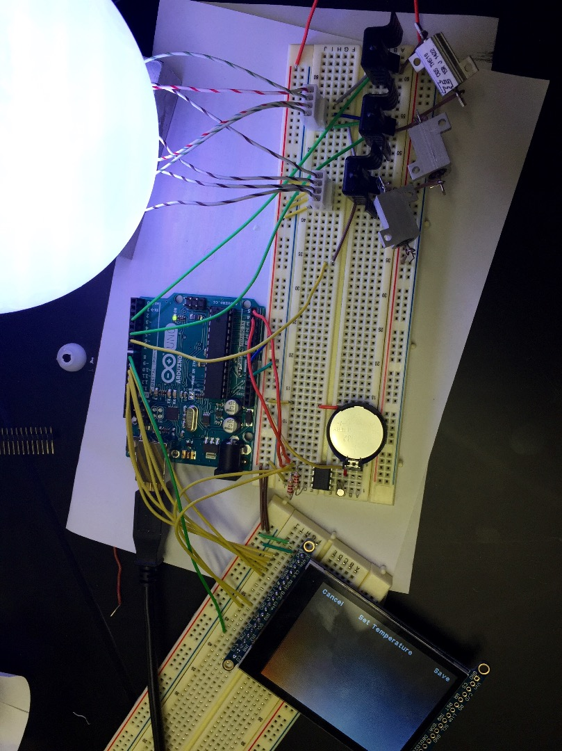 Picture of Connect the Touchscreen