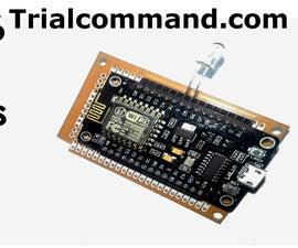 ESP8266 Slave Modbus TCP/IP No Libraries