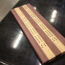 Cribbage Board Jig For A Drill Press