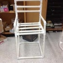 How to make a PVC chair