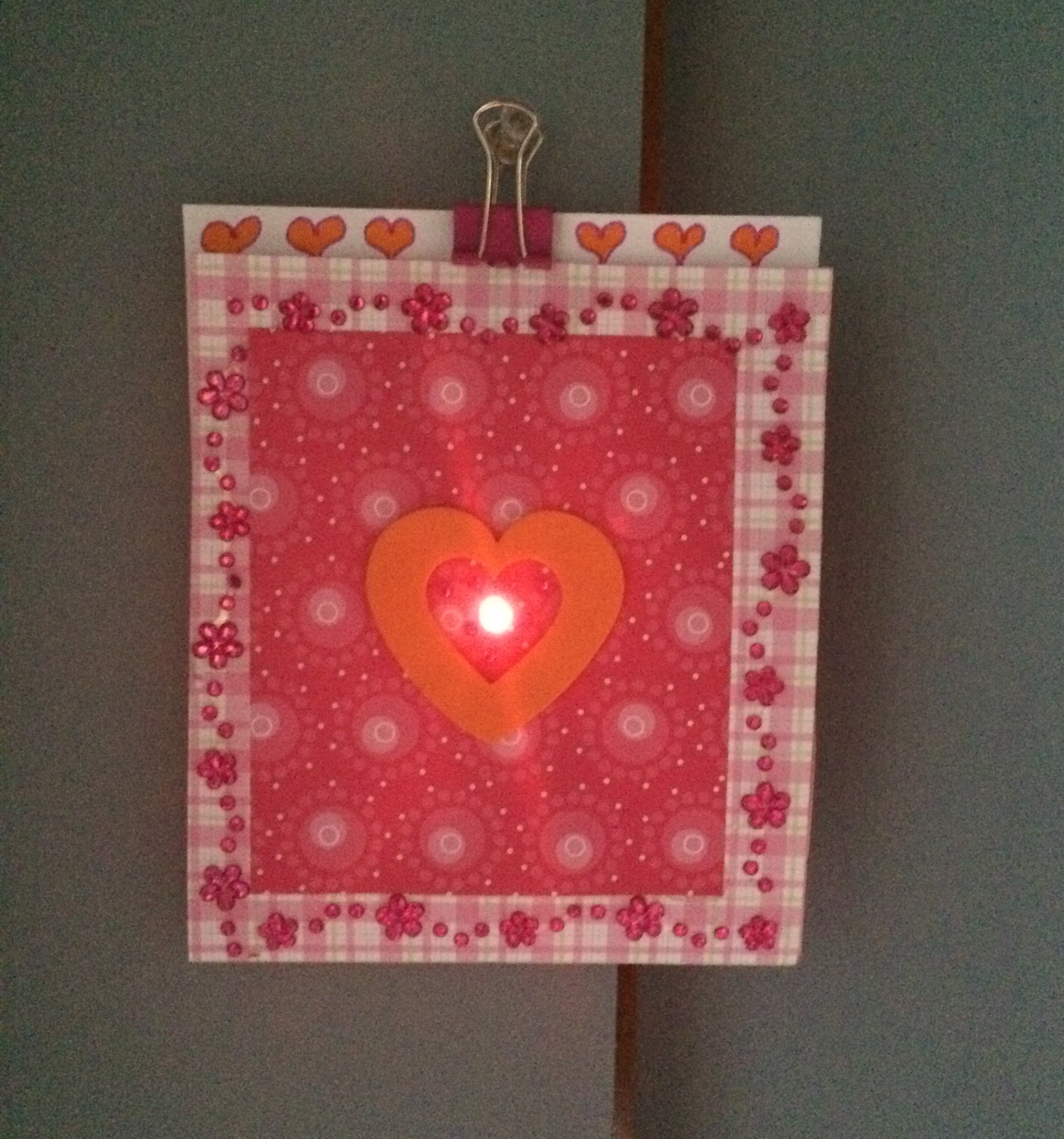 Picture of How to Make an LED Valentine Card-