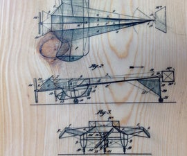 Ink jet to wood using rice paper and polyurethane
