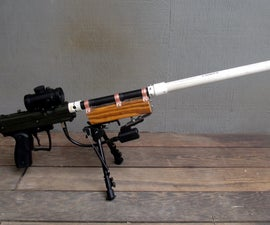 V2 Beast- An Airsoft Support Sniper