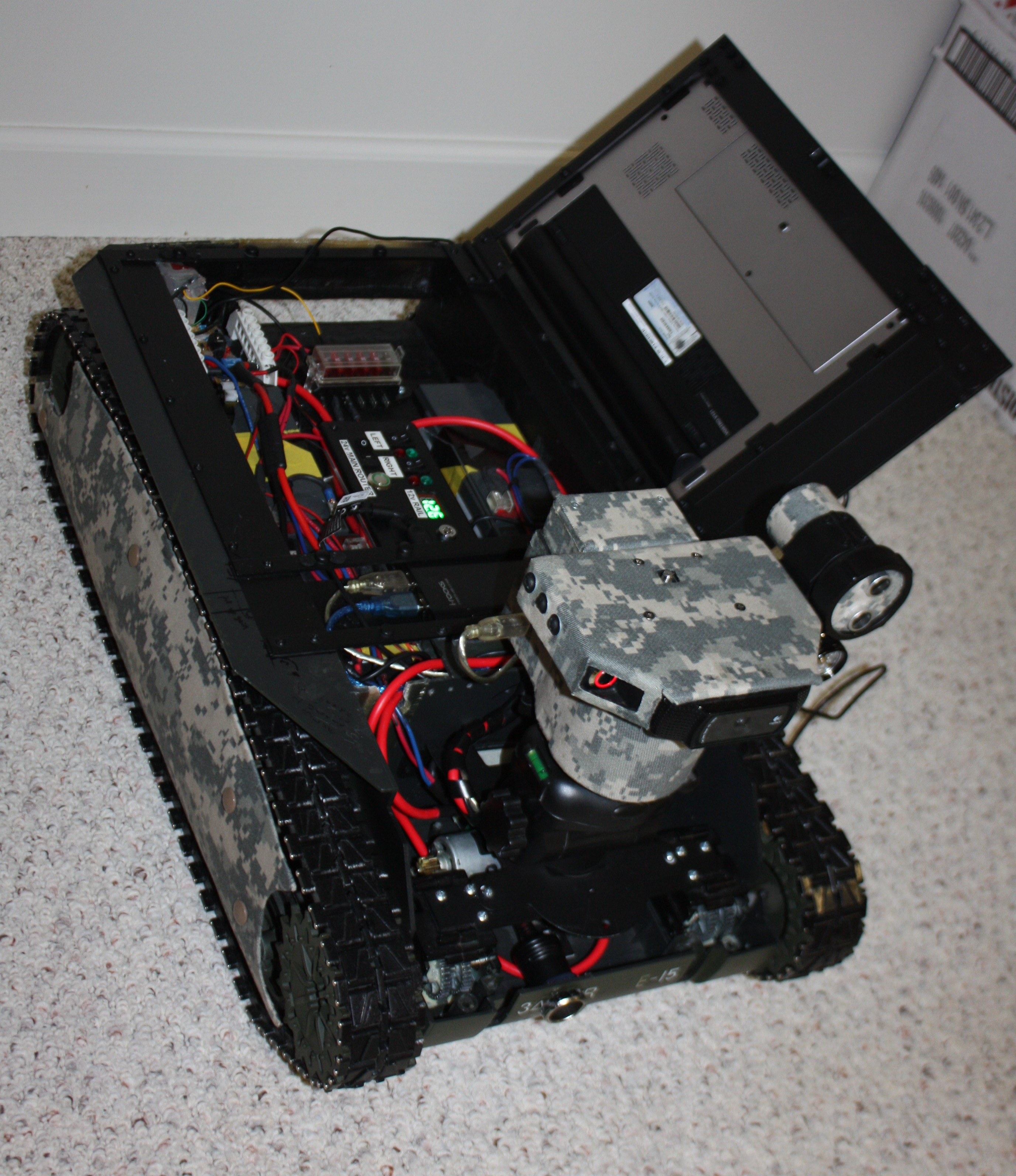 "Picture of ""Project Launch Platform Robot"" Part 1 - the Head"