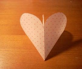 Heart-Shaped Chocolate holder
