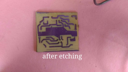Etching and Stripping.