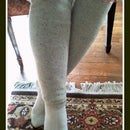 Baby, It's Cold Outside! -  A sweater turned legwarmer story