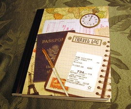 How to make a customized journal with a composition book