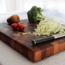 $500 Cutting Board W/ Tropical Woods