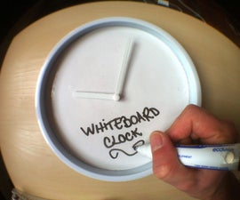 Whiteboard Clock