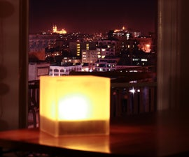 Twitter Mood Light - The World's Mood in a Box
