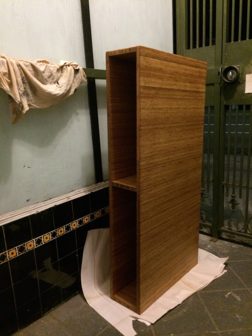 Picture of Sealing Wood and Attaching Legs