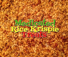 Medicated Rice Krispies Treats Non GMO & Gluten Free