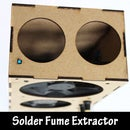 Laser Cut Solder Fume Extractor