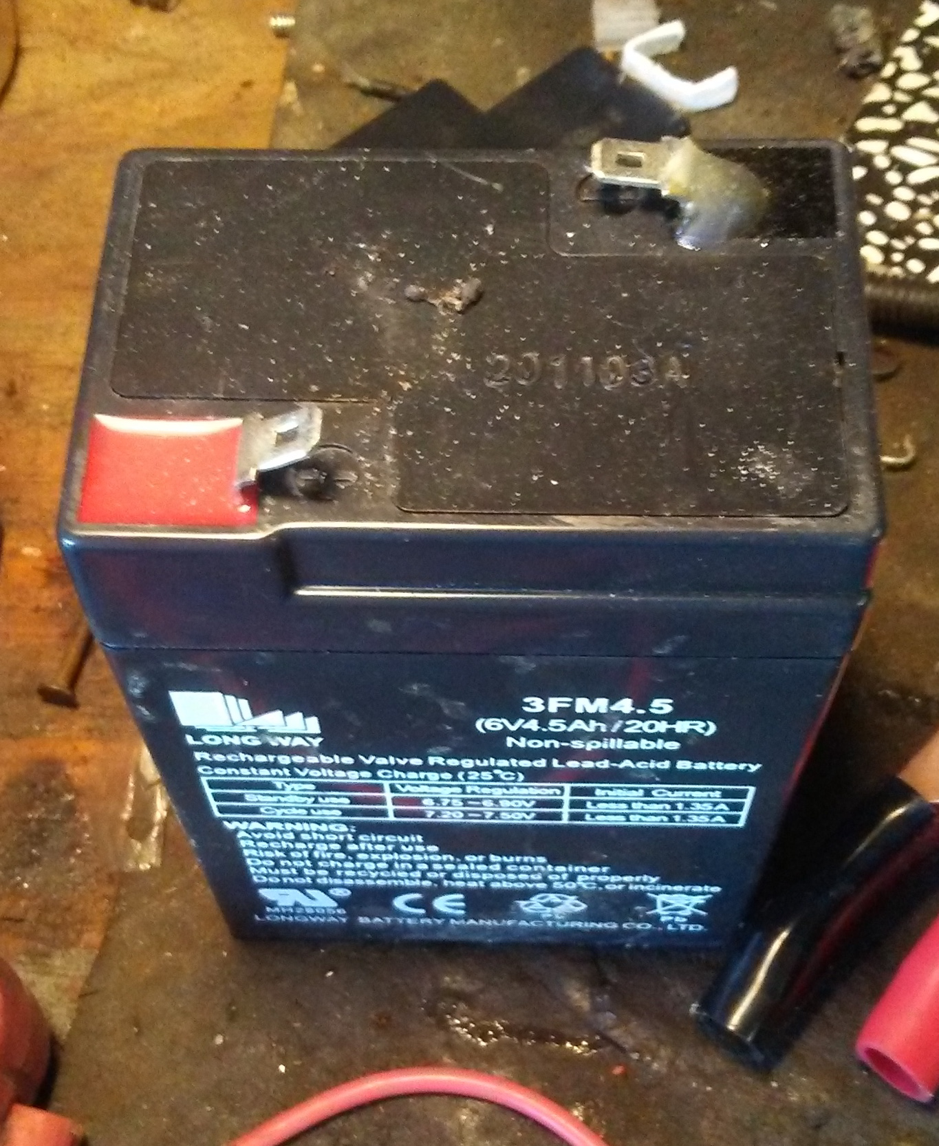 Picture of 6/12/24 Volt Electric Ride on Toys Batteries Maintenance