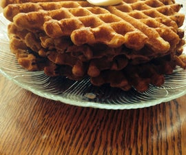 Superfood Protein Waffles