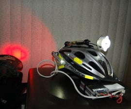 Commuting and Trail Riding Bicycle Helmet Lighting Solution...