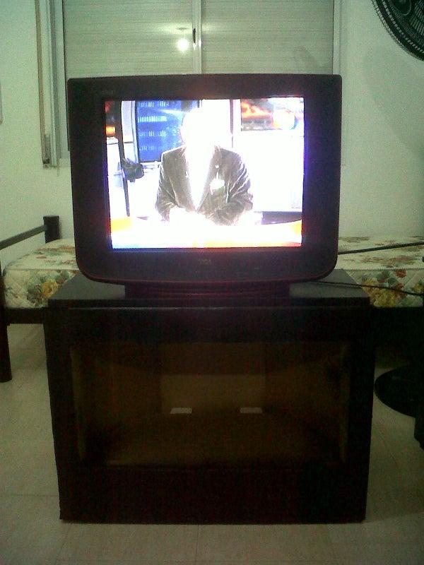 Cardboard TV Table.