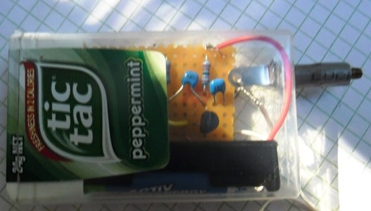 Tic Tac Test Box... a Simple Audio Signal Injector!