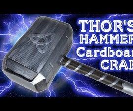 Thor's Hammer DIY Cardboard Craft - Cosplay   D Workshop