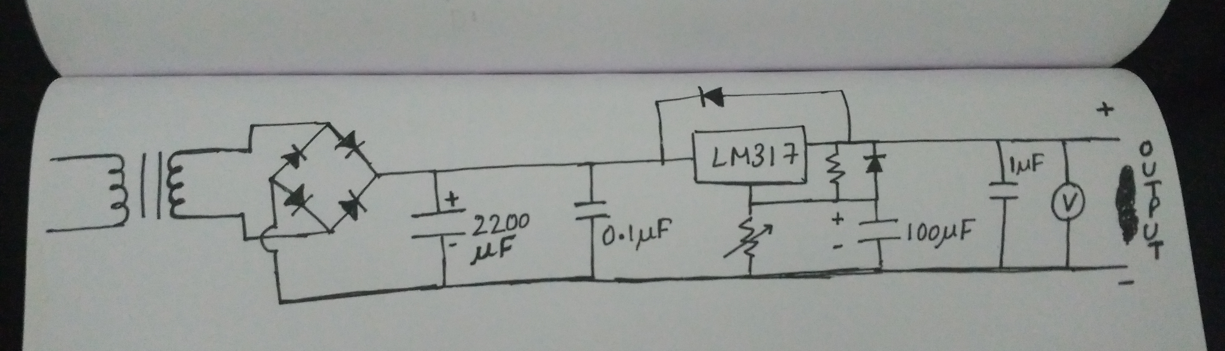 Picture of Final Circuit Assembly