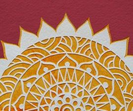 Paper Cutting Art: How To Cut Shapes   Mandala Art