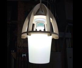 Yogurt container lantern