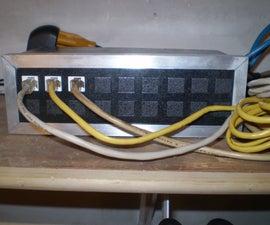 DIY 16 Port Keystone Patch Panel