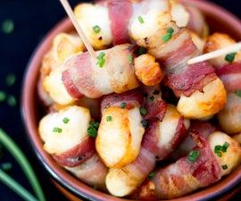 How to Make Bacon Halloumi Bites