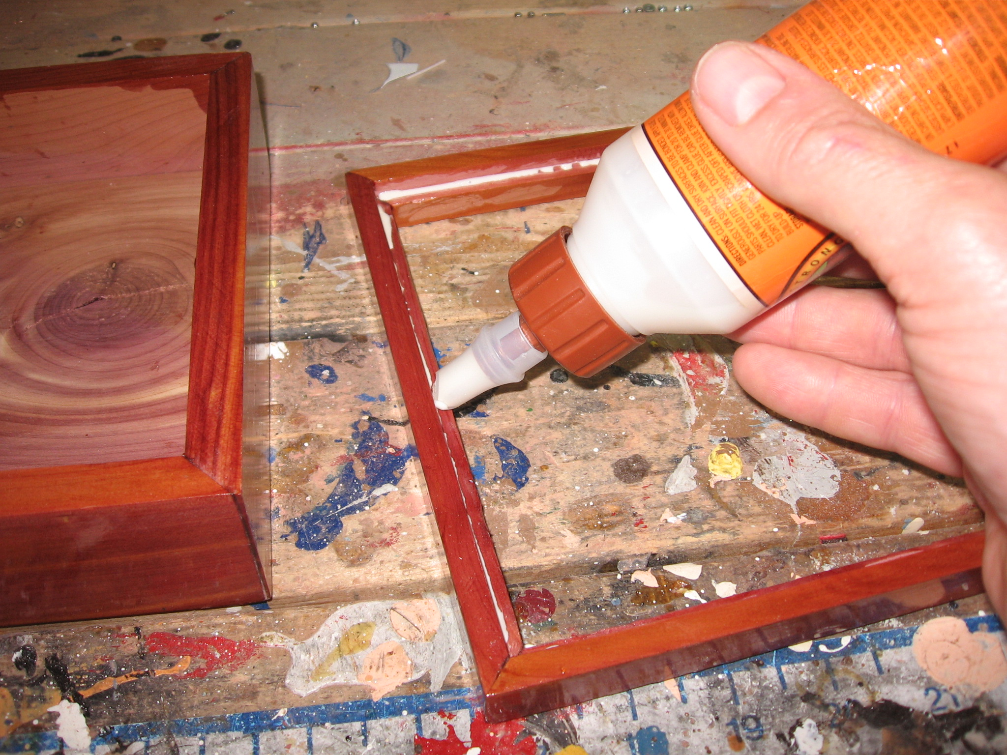Picture of Adding the Bottom Trim