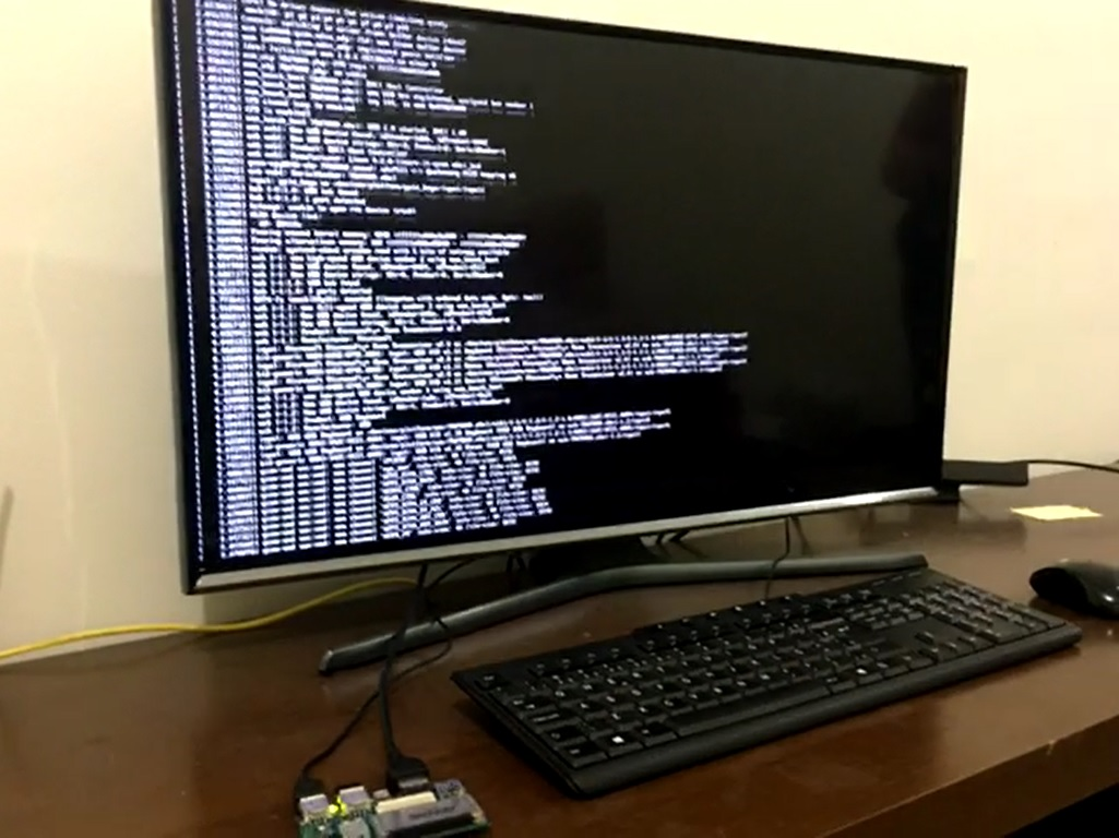 Picture of Performing the DragonBoard 410c Initial Setup**