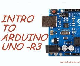 INTRO TO ARDUINO UNO-R3
