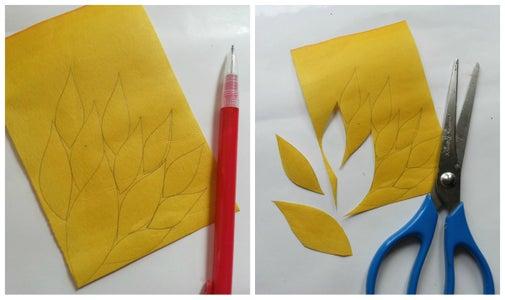 Cutting Leaf Shapes