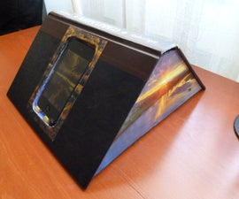 How to make a book into an ipod dock.