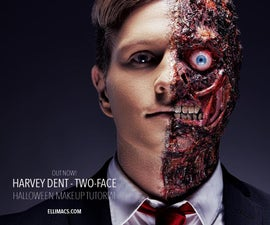 Harvey Dent - Two Face - SFX Makeup Tutorial