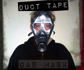 Emergency Duct Tape Gas Mask!