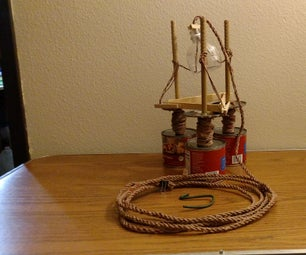 Indoor Rope Making