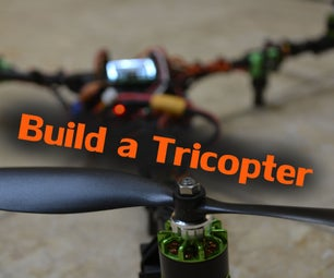 Build a Tricopter With Rotor Bits