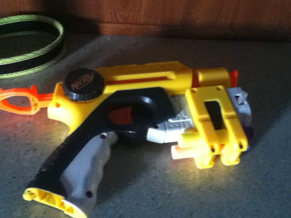 Picture of How to Turn a Nerf Gun Into a BB Gun!