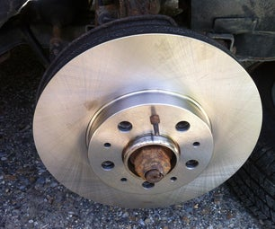 Changing the brake rotor on an 95 Volvo 850