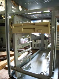 Shaping the Tray Rails